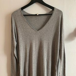 Lightweight Joie Gray Cashmere/Wool Sweater
